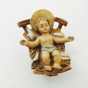 Christmas Eve Nativity Ceramic Baby Jesus Christ